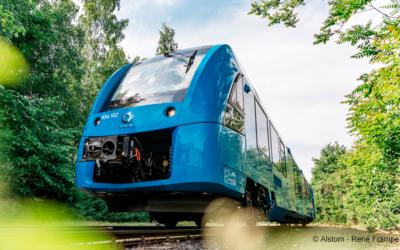 Spatenstich für erste Wasserstofftankstelle für Passagierzüge in Hessen gesetzt