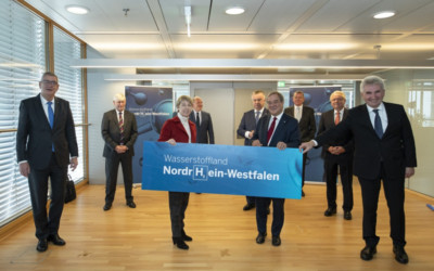 NRW-Landesregierung kündigt Wasserstoff-Strategie an