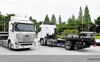 1.000 Brennstoffzellen-Nutzfahrzeuge für Osthessen