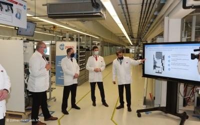Startschuss für Serienproduktion eines Wasserstoff-Stromspeichers für Privathaushalte