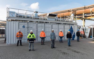 Hochtemperatur-Elektrolyseur nimmt in Salzgitter Probebetrieb auf