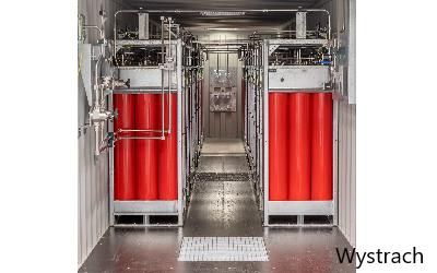 Wystrach liefert Wasserstoffspeicher für schwedische Forschungsanlage