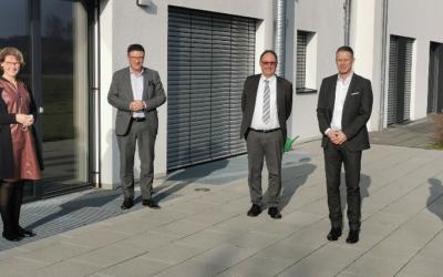 Dr. Stefan Kaufmann zu Besuch bei der Beratungsgesellschaft EurA AG