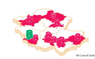 Wasserstoffranking: Ruhrgebiet ist führend