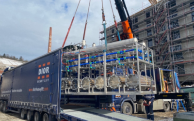 Elektrolyseur erreicht klimaneutrales Quartier in Esslingen