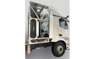 Wasserstoff-LKW erhält Tanksystem von Wystrach
