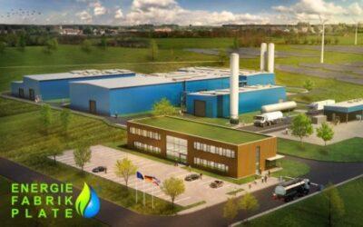 Energiefabrik auf Basis patentierter Wasserstoffsystemtechnik