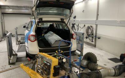 SWE testen Wasserstoff im Erdgastank