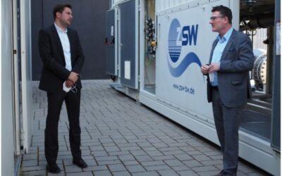 Stefan Kaufmann besucht Wasserstoff-Forschungszentrum Baden-Württemberg