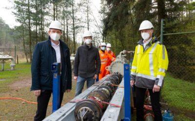 Gasleitung in Lingen wird auf Wasserstoff vorbereitet
