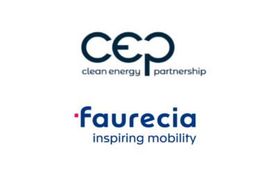 Faurecia ist neues Mitglied der Clean Energy Partnership