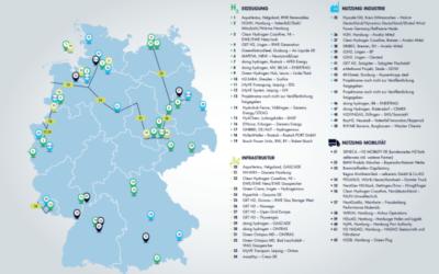 62 Wasserstoff-Großprojekte für IPCEI-Förderung ausgewählt