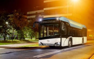 Solaris liefert Wasserstoffbusse nach Frankfurt