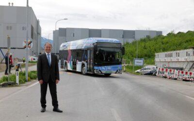 Kärnten testet ersten Wasserstoff-Bus im Linienbetrieb