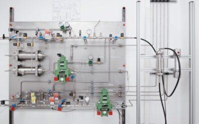 Pilotanlage testet Membranen für die Trennung von Erdgas und Wasserstoff
