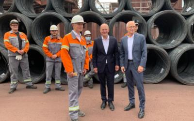 ArcelorMittal wartet auf Förderbescheid der Bundesregierung